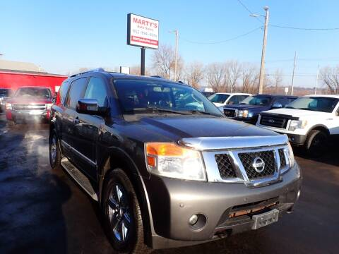 2010 Nissan Armada for sale at Marty's Auto Sales in Savage MN