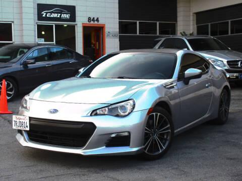 2015 Subaru BRZ for sale at Z Carz Inc. in San Carlos CA
