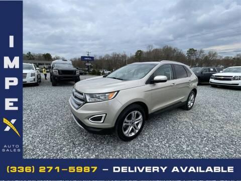 2017 Ford Edge for sale at Impex Auto Sales in Greensboro NC
