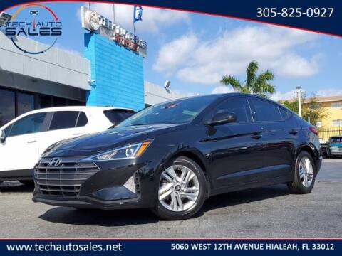 2020 Hyundai Elantra for sale at Tech Auto Sales in Hialeah FL