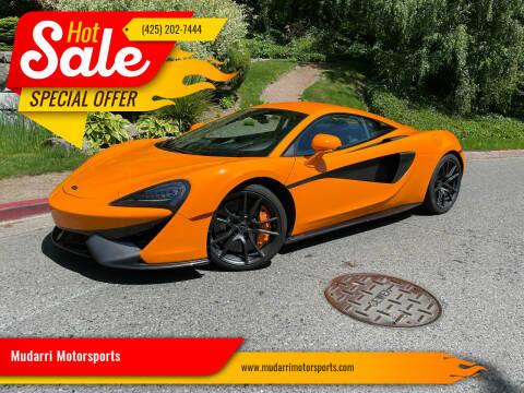 2017 McLaren 570S for sale at Mudarri Motorsports in Kirkland WA