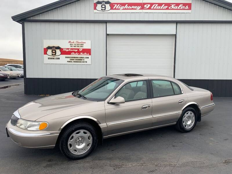 1999 Lincoln Continental for sale at Highway 9 Auto Sales - Visit us at usnine.com in Ponca NE