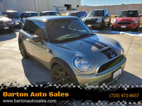2010 MINI Cooper for sale at Barton Auto Sales in Frederick CO