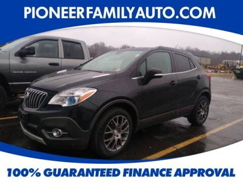 2016 Buick Encore for sale at Pioneer Family auto in Marietta OH