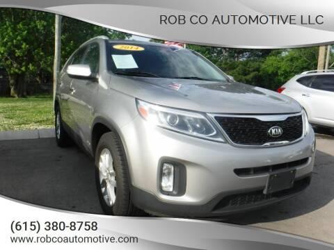 2014 Kia Sorento for sale at Rob Co Automotive LLC in Springfield TN