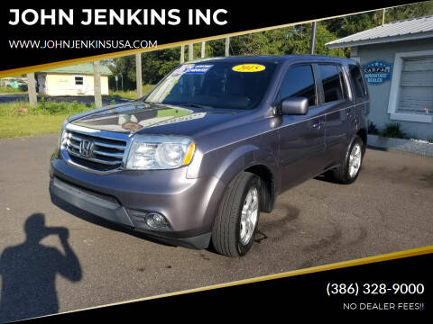 2015 Honda Pilot for sale at JOHN JENKINS INC in Palatka FL