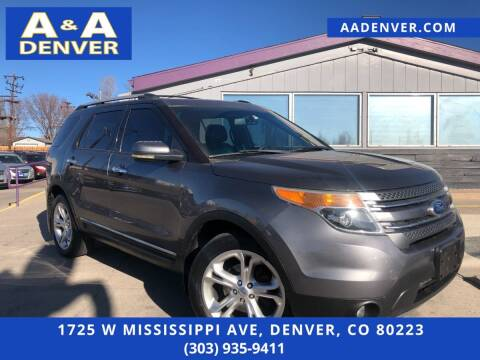 2011 Ford Explorer for sale at A & A AUTO LLC in Denver CO