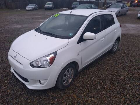 2014 Mitsubishi Mirage for sale at Seneca Motors, Inc. (Seneca PA) in Seneca PA