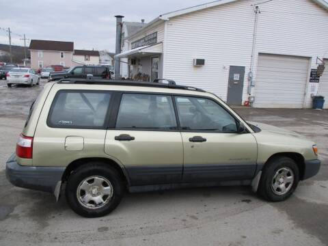 2002 Subaru Forester for sale at ROUTE 119 AUTO SALES & SVC in Homer City PA