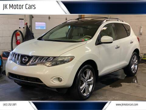 2009 Nissan Murano for sale at JK Motor Cars in Pittsburgh PA