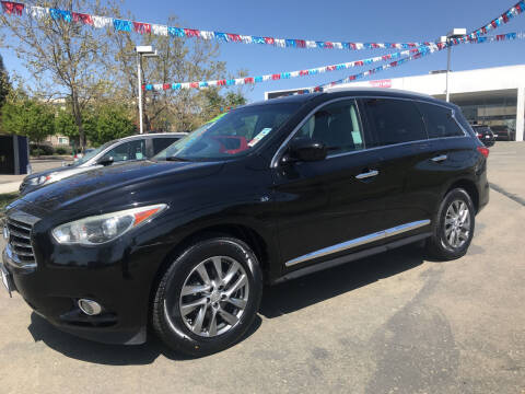 2015 Infiniti QX60 for sale at Autos Wholesale in Hayward CA