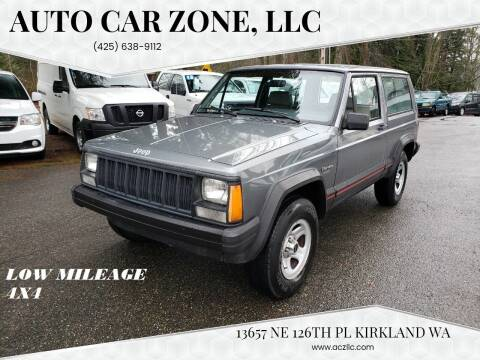 1993 Jeep Cherokee for sale at Auto Car Zone, LLC in Kirkland WA