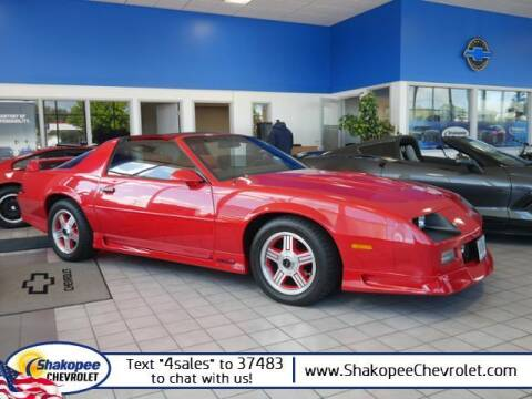 1991 Chevrolet Camaro for sale at SHAKOPEE CHEVROLET in Shakopee MN