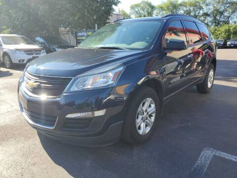 2015 Chevrolet Traverse for sale at MIDWEST CAR SEARCH in Fridley MN
