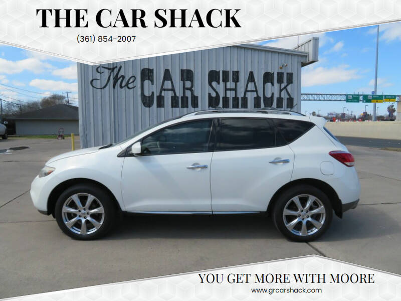 2012 Nissan Murano for sale at The Car Shack in Corpus Christi TX