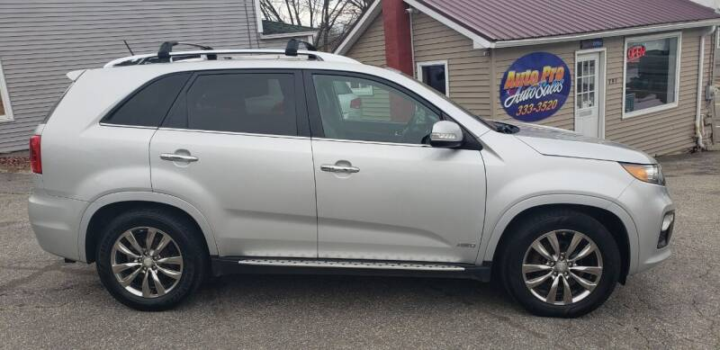 2013 Kia Sorento for sale at Auto Pro Auto Sales-797 Sabattus St. in Lewiston ME