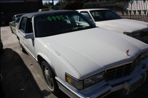 1993 Cadillac DeVille for sale at Frank Corrente Cadillac Corner in Hollywood CA