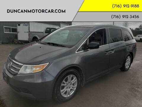 2011 Honda Odyssey for sale at DuncanMotorcar.com in Buffalo NY
