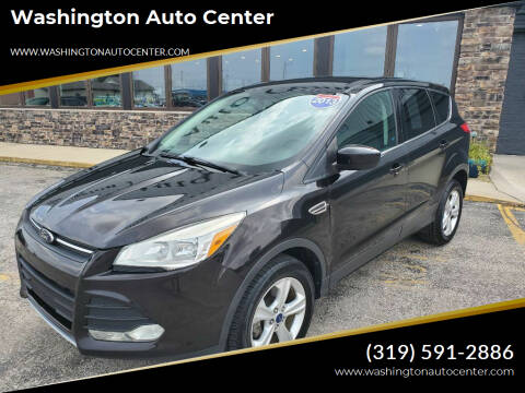 2013 Ford Escape for sale at Washington Auto Center in Washington IA