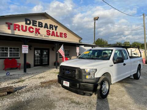 2016 Ford F-150 for sale at DEBARY TRUCK SALES in Sanford FL