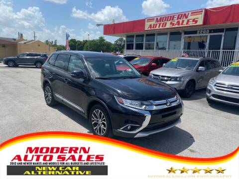 2018 Mitsubishi Outlander for sale at Modern Auto Sales in Hollywood FL