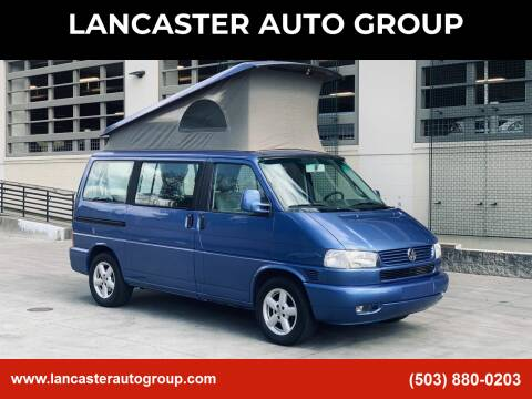 2002 Volkswagen EuroVan for sale at LANCASTER AUTO GROUP in Portland OR