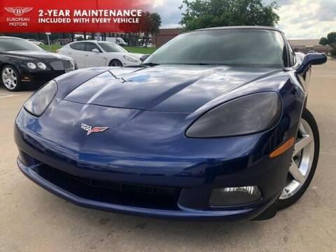 2005 Chevrolet Corvette for sale at European Motors Inc in Plano TX