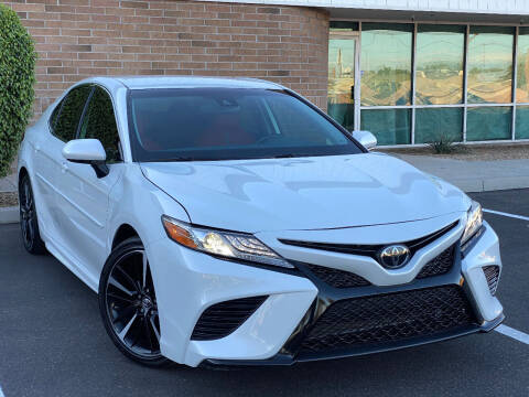 2019 Toyota Camry for sale at AKOI Motors in Tempe AZ