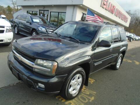 2003 Chevrolet TrailBlazer for sale at Island Auto Buyers in West Babylon NY