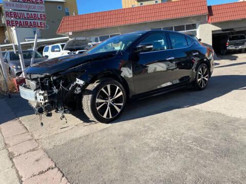 2018 Nissan Maxima for sale at ELITE MOTOR CARS OF MIAMI in Miami FL