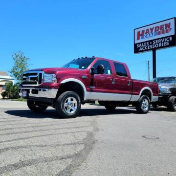 2005 Ford F-250 Super Duty for sale at Hayden Cars in Coeur D Alene ID