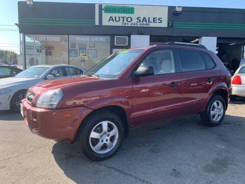 2008 Hyundai Tucson for sale at Wakefield Auto Sales of Main Street Inc. in Wakefield MA