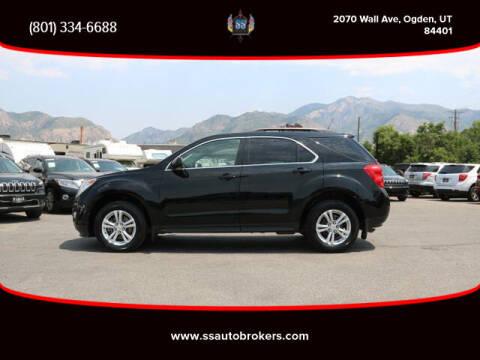 2011 Chevrolet Equinox for sale at S S Auto Brokers in Ogden UT