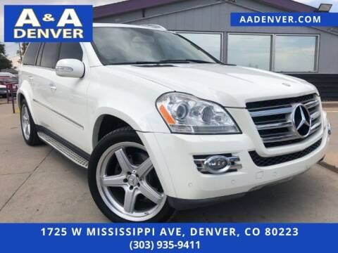 2008 Mercedes-Benz GL-Class for sale at A & A AUTO LLC in Denver CO