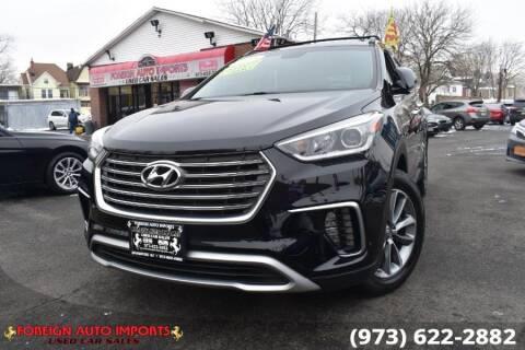 2018 Hyundai Santa Fe for sale at www.onlycarsnj.net in Irvington NJ