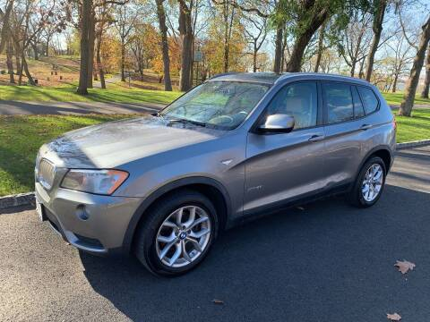 2013 BMW X3 for sale at Crazy Cars Auto Sale in Jersey City NJ