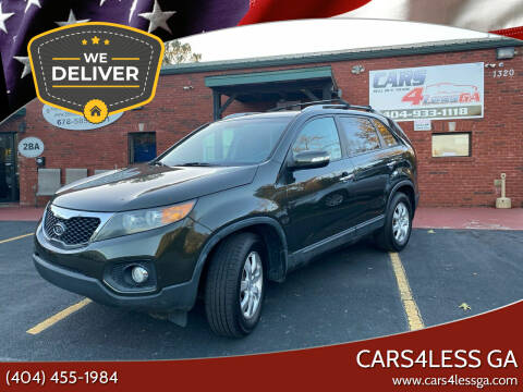 2012 Kia Sorento for sale at Cars4Less GA in Alpharetta GA