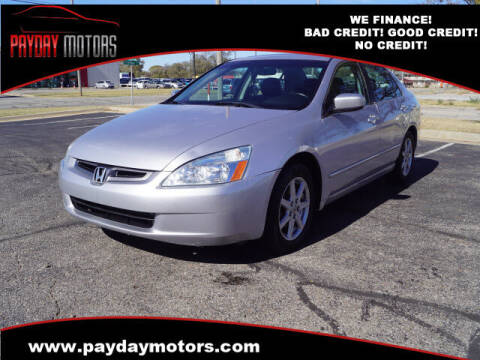 2004 Honda Accord for sale at Payday Motors in Wichita And Topeka KS