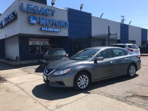 2018 Nissan Altima for sale at Legacy Motors in Detroit MI