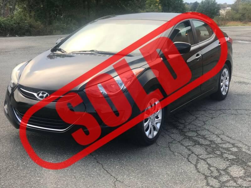 2013 Hyundai Elantra for sale at CarzStudio in Fredericksburg VA