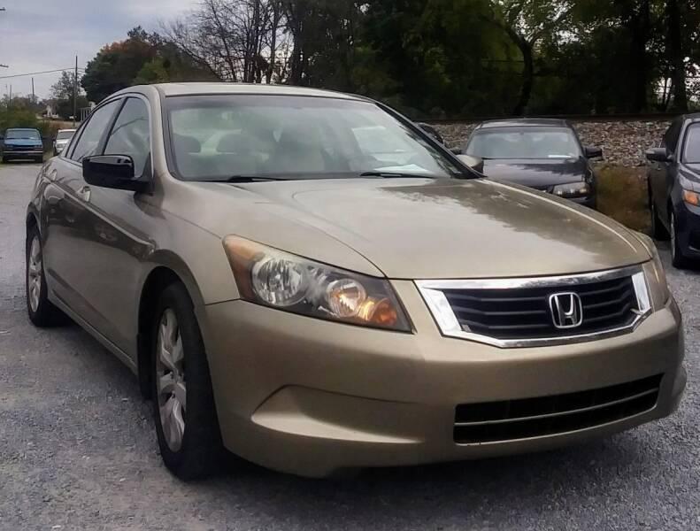 2008 Honda Accord for sale at Abingdon Auto Specialist Inc. in Abingdon VA