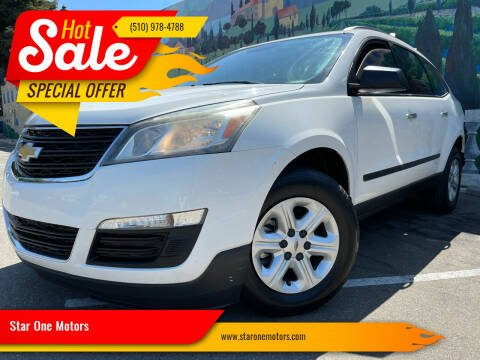 2014 Chevrolet Traverse for sale at Star One Motors in Hayward CA