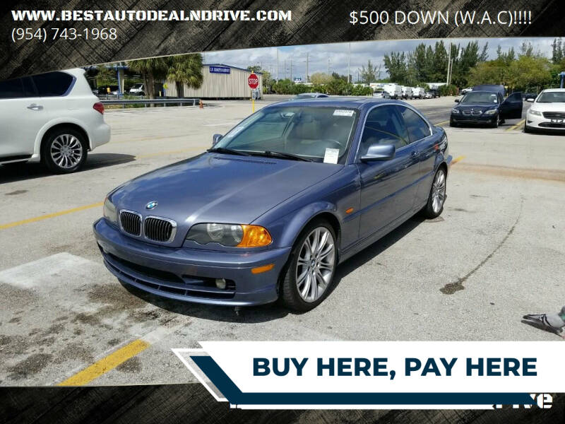 2002 BMW 3 Series for sale at Best Auto Deal N Drive in Hollywood FL