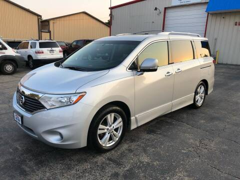 2011 Nissan Quest for sale at Bibian Brothers Auto Sales & Service in Joliet IL