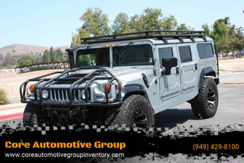 2003 HUMMER H1 for sale at Core Automotive Group - Hummer in San Juan Capistrano CA