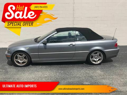 2005 BMW 3 Series for sale at ULTIMATE AUTO IMPORTS in Longwood FL