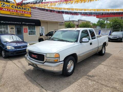 2002 GMC Sierra 1500 for sale at 2nd Chance Auto Sales in Montgomery AL