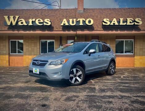 2014 Subaru XV Crosstrek for sale at Wares Auto Sales INC in Traverse City MI