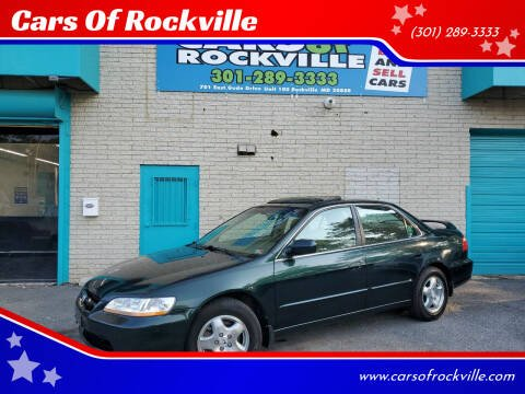 2000 Honda Accord for sale at Cars Of Rockville in Rockville MD