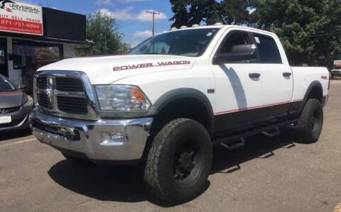 2012 RAM Ram Pickup 2500 for sale at Universal Auto INC in Salem OR